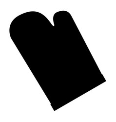 Kitchen glove vector