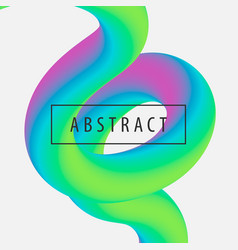 set of modern trendy style abstraction poster vector image