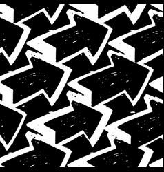 simple arrow seamless pattern arrows pattern vector image