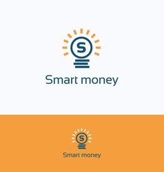 Smart money logo vector