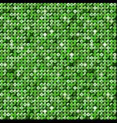 The banner green sequins mosaic sequins glitter vector