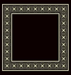 vintage decorative frame vector image