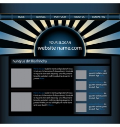 website design template editable vector image vector image