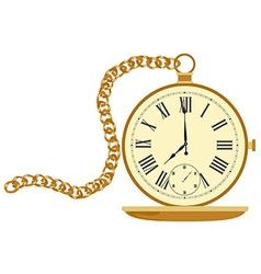 Pocket watch vector image
