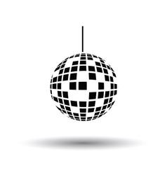 Party disco sphere icon vector image vector image