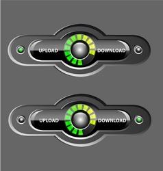 UpDown Element vector image