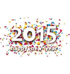 2015 paper confetti word vector image