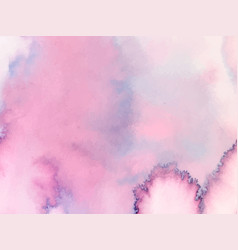 Colorful abstract background soft pink watercolor vector