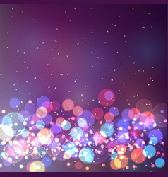 Creative bokeh abstract trendy texture vector