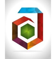 Emblem icon design vector