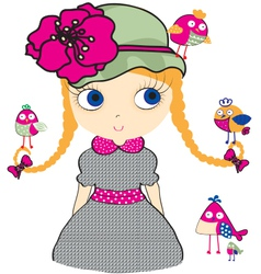 Pretty Girl vector image