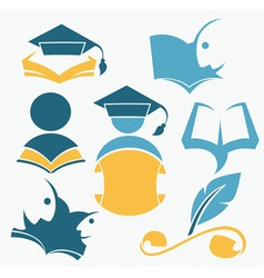 study and diploma vector image