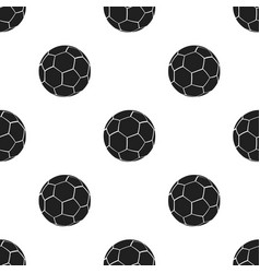 football icon black single sport icon from the vector image