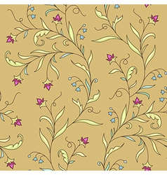 pattern modernist flower vector image vector image