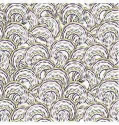 abstract ripple line seamless pattern wavy swirl vector image