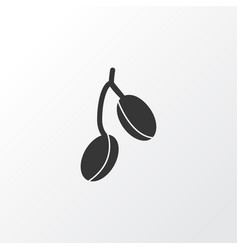 barberry icon symbol premium quality isolated vector image
