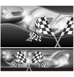 Chequered flag auto background 10 v vector