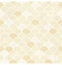 Fish Scales Pattern Seamless Vintage Background vector