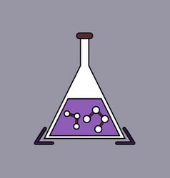 Flat icon design collection pheromones in vector