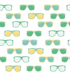 Glasses and Sunglasses Seamless Pattern vector image