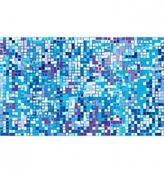 winter mosaic vector image
