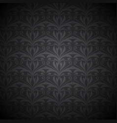 ornate floral background vector image vector image