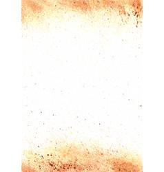 Abstract brown color watercolor splash vector