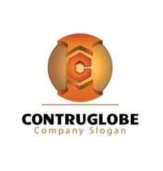 Construglobe Design vector