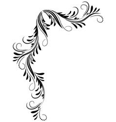 Corner Ornament vector