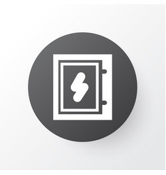 electrical board icon symbol premium quality vector image