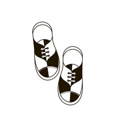 Image with shoes vector