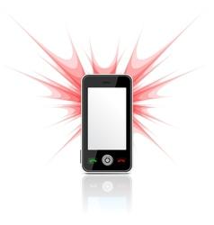 Phone as camera vector image