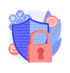 Privacy engineering abstract concept vector
