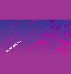 Purple gradient geometric circle shape background vector