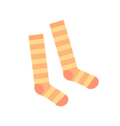 socks for girls baclothes vector image