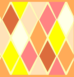 Yellow abstract seamless pattern vector