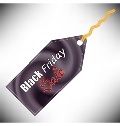 Black Fridays Label vector image