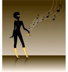 funk music vector image