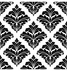 Geometric seamless arabesque pattern vector image