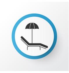 Beach icon symbol premium quality isolated relax vector