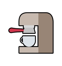 Drink coffee machine beverage icon graphic vector