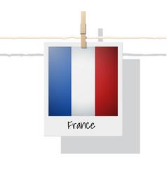Photo of france flag vector