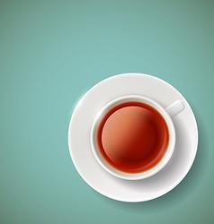 Red tea Stock vector