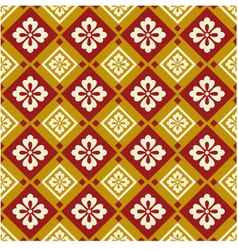 Seamless chinese style fabric pattern vector