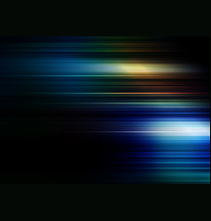 Speed lines with colors background vector