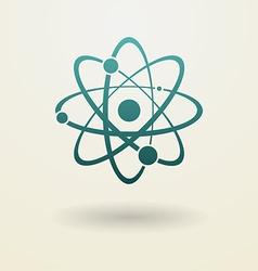Simple molecule icon vector image vector image