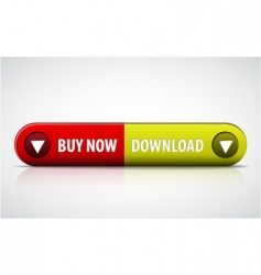 buy now button vector image vector image