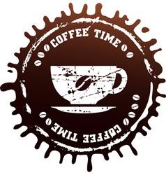 cup blot vector image vector image