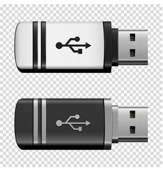 flash drive usb vector image