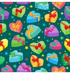 Valentines days presents collection vector image